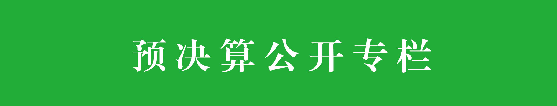 预决算公kai专lan